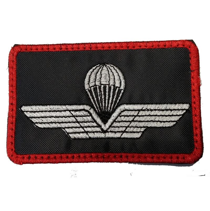 Brevetto Militare Paracadutista Italiano Sfondo Blu Ptc 003 Brb