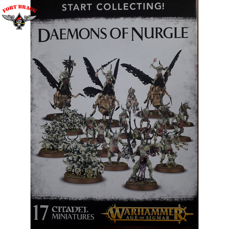 WARHAMMER DEAMONS OF NURGLE START COLLECTING