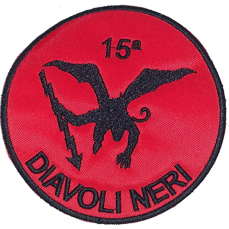 Patch omerale 5° Battaglione Par.15  compagnia DIAVOLI NERI  PTC-009 ... e65830fda0cf