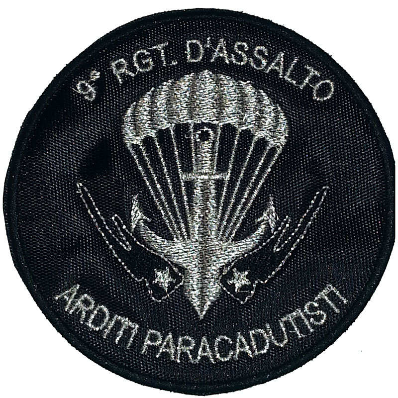 Patch omerale 9° Reggimento COL MOSCHIN