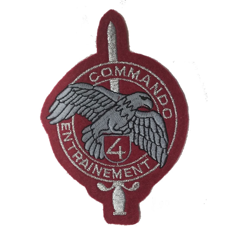 PATCH OMERALE 4° COMMANDO FRANCESE