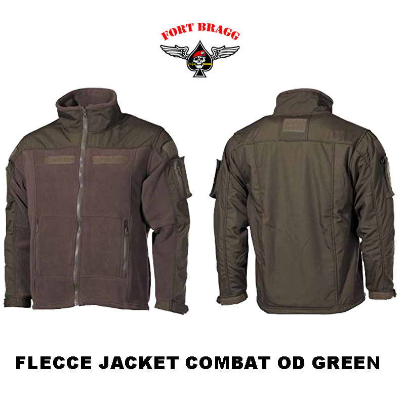 FLECCE JACKET COMBAT GREEN