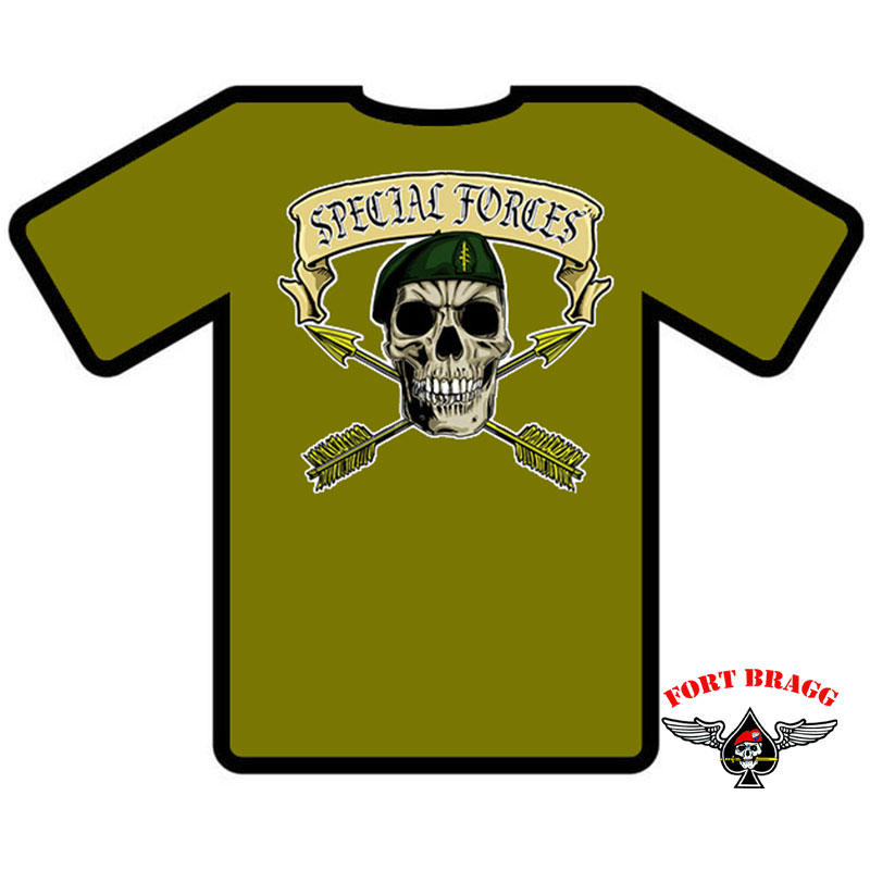 T-SHIRT MAGLIETTA AMERICANA US ARMY SPECIAL FORCE