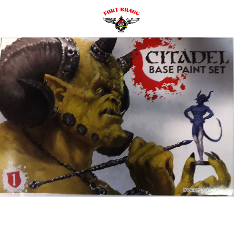 WARHAMMAER CITADEL BASE PAINT SET 99179950002